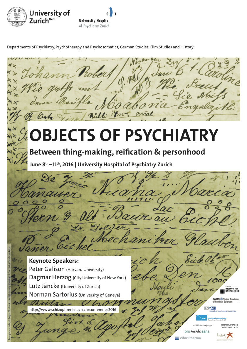 Objects of Psychiatry